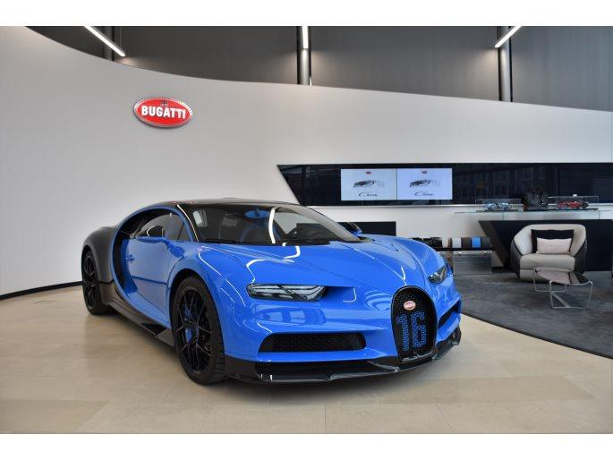 Foto des Fahrzeugs Bugatti Chiron Sport